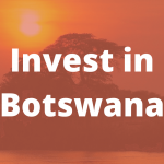 Invest in Botswana