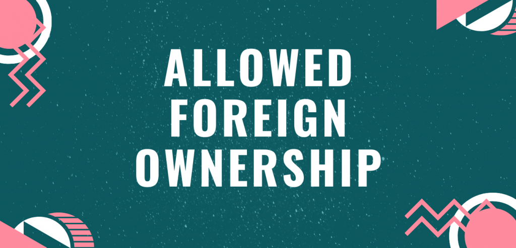 Allowed foreign ownership