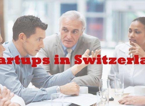 Startups in Switzerland
