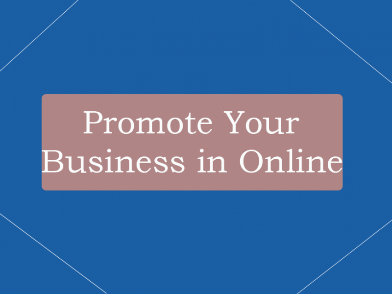 Promote Business in Online